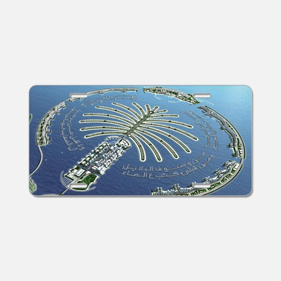 Dubai Lake Aluminum License Plate