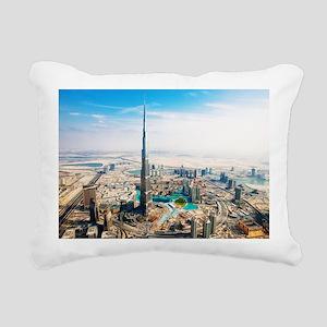 Dubai Rectangular Canvas Pillow