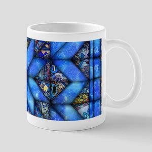 Blue Paisley Quilt Mugs