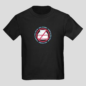 Milk Allergy Kids Dark T-Shirt