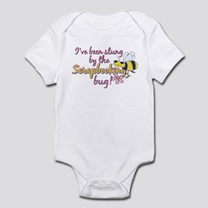 Scrapbooking Bug Infant Bodysuit