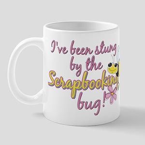 Scrapbooking Bug Mug