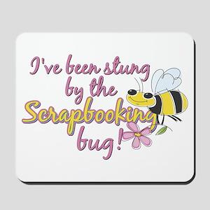 Scrapbooking Bug Mousepad