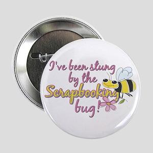 "Scrapbooking Bug 2.25"" Button"