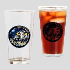 NROL-25 Program Logo Drinking Glass