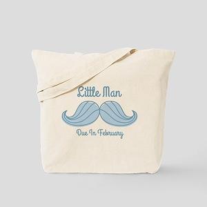 Mustache LM Feb Tote Bag