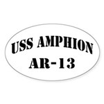 USS AMPHION Sticker (Oval)