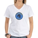 USS AMPHION Women's V-Neck T-Shirt