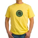 USS AMPHION Yellow T-Shirt