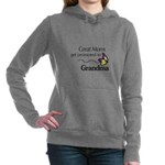 Great Moms get promoted to Grandma Women's Hooded