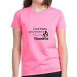 Great Moms get promoted to Grandma T-Shirt