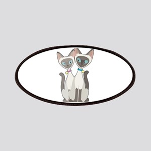 Siamese Cats Patches