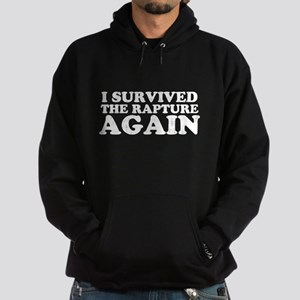 I Survived The Rapture Again Hoodie (dark)