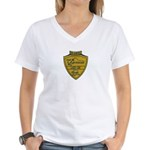 USS ANCHORAGE Women's V-Neck T-Shirt