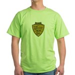 USS ANCHORAGE Green T-Shirt