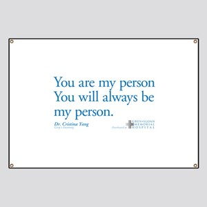 Greys Anatomy Quotes Banners Cafepress