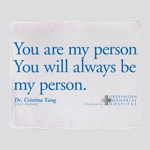 You Are My Person Stadium Blanket