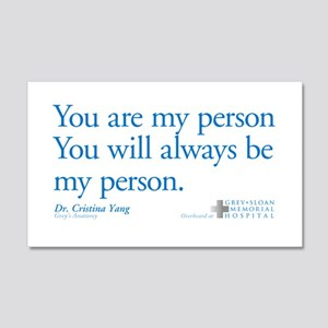 You Are My Person 22x14 Wall Peel