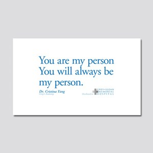 You Are My Person Car Magnet 20 x 12