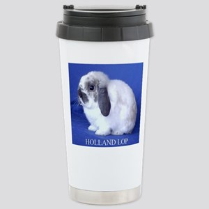 Holland Lop Rabbit Travel Mug