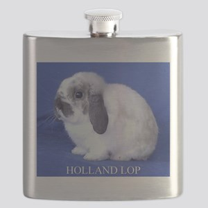 Holland Lop Rabbit Flask