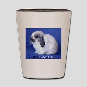 Holland Lop Rabbit Shot Glass
