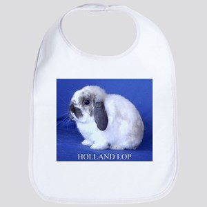 Holland Lop Rabbit Bib