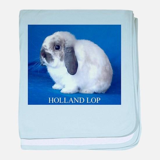 Holland Lop Rabbit.jpg baby blanket