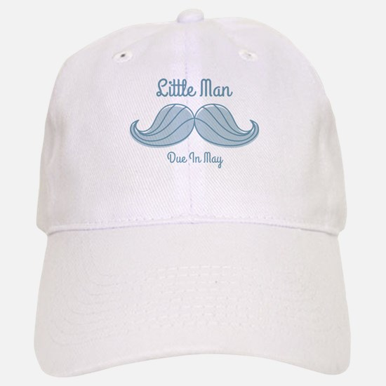 Mustache LM May Baseball Baseball Cap
