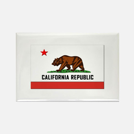 Flag of California Rectangle Magnet