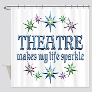 Theatre Sparkles Shower Curtain
