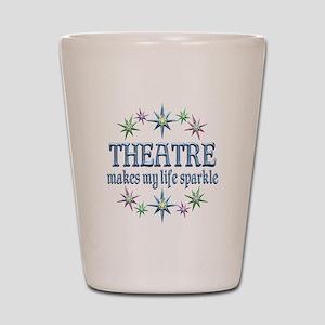 Theatre Sparkles Shot Glass