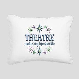 Theatre Sparkles Rectangular Canvas Pillow