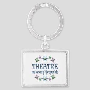 Theatre Sparkles Landscape Keychain