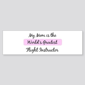 Worlds Greatest Flight Instru Bumper Sticker