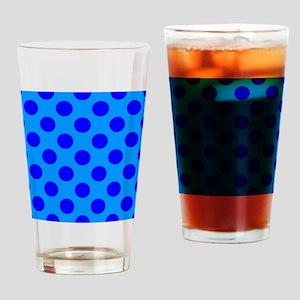 Blue Moody Blue Drinking Glass