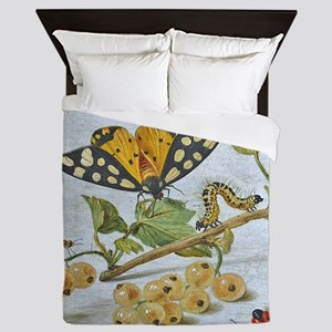 Insects Crawling Queen Duvet