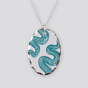 Vintage Snake Graphic Necklace