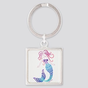 Tribal Mermaid Keychains