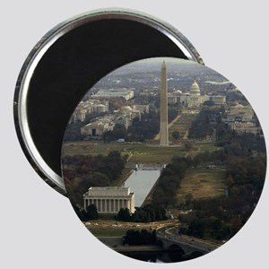 Washington DC Aerial Photograph Magnet