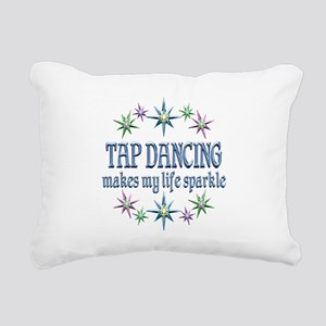 Tap Dancing Sparkles Rectangular Canvas Pillow