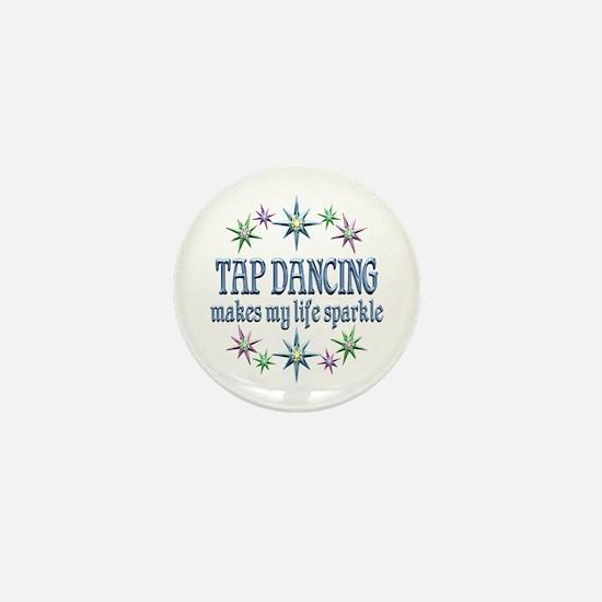 Tap Dancing Sparkles Mini Button