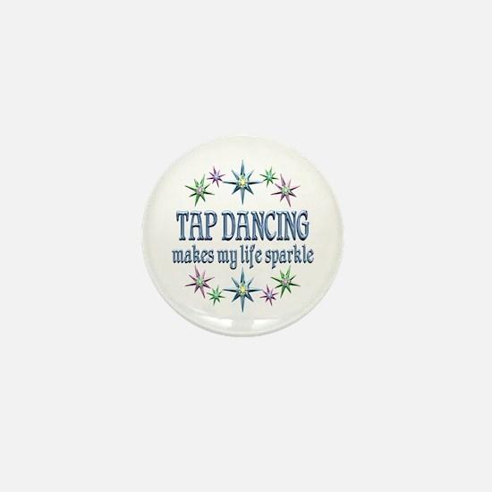 Tap Dancing Sparkles Mini Button (10 pack)