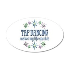 Tap Dancing Sparkles Wall Sticker