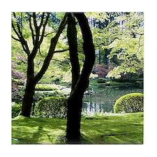 gardens Tile Coaster