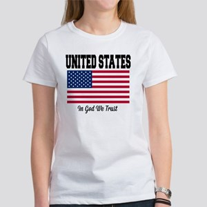 United States - In God We Trust Women's T-Shirt