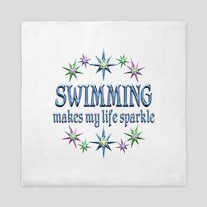 Swimming Sparkles Queen Duvet