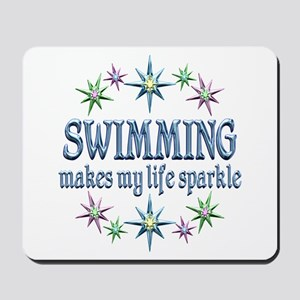 Swimming Sparkles Mousepad
