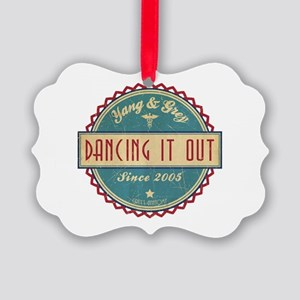 Dancing It Out Since 2005 Picture Ornament