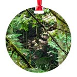 forest light Round Ornament